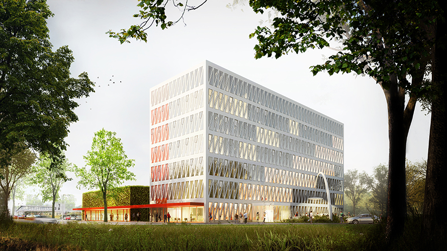Bio/M Campus Aachen - for mathieu bruls architect