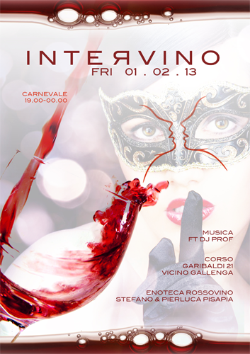poster intervino carnevale